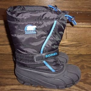 Sorel Flurry NY1810-010 Insulated Lined Snow Boots